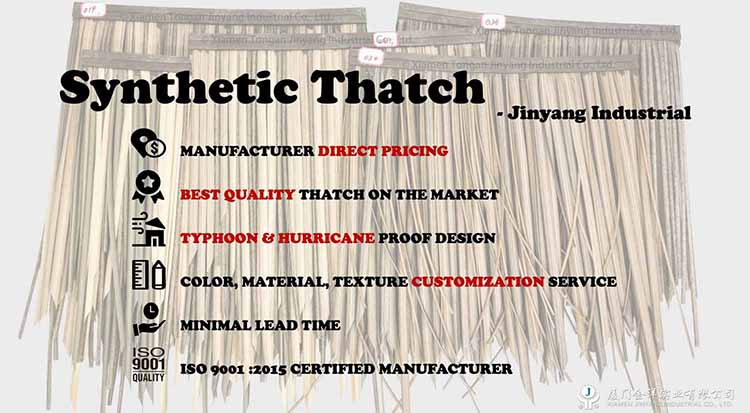 synthetic thatch