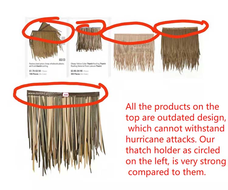 Thatch roof design