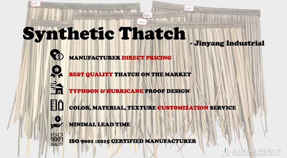 Jinyang industrial imitation thatch roof