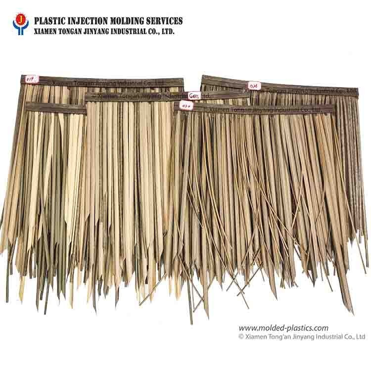 Thatched roof customization service